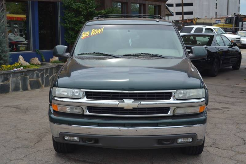 2002 Chevrolet Suburban for sale at CENTRAL AUTO SALES in Decatur GA