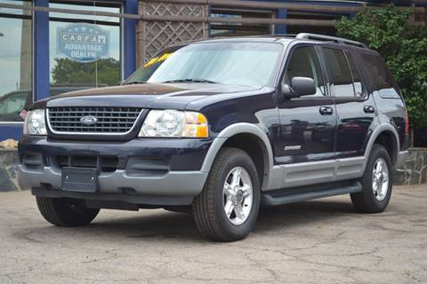 2002 Ford Explorer for sale at CENTRAL AUTO SALES in Decatur GA