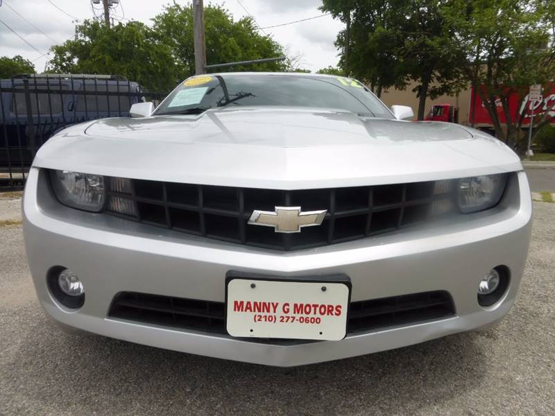 2012 Chevrolet Camaro for sale at Manny G Motors in San Antonio TX