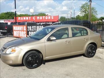 2007 Chevrolet Cobalt for sale at Manny G Motors in San Antonio TX