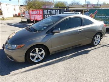 2007 Honda Civic for sale at Manny G Motors in San Antonio TX