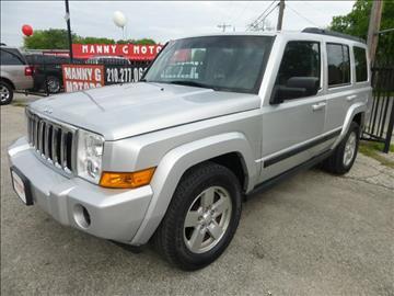 2008 Jeep Commander for sale at Manny G Motors in San Antonio TX