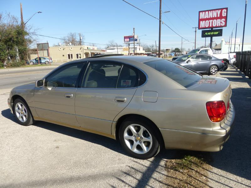 2002 Lexus GS 300 for sale at Manny G Motors in San Antonio TX