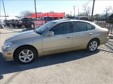 2002 Lexus GS 300 for sale at Manny G Motors in San Antonio TX