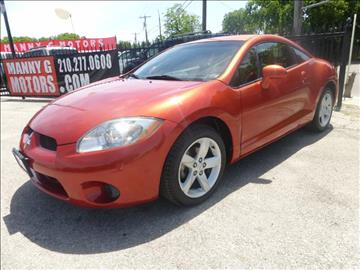 2007 Mitsubishi Eclipse for sale at Manny G Motors in San Antonio TX