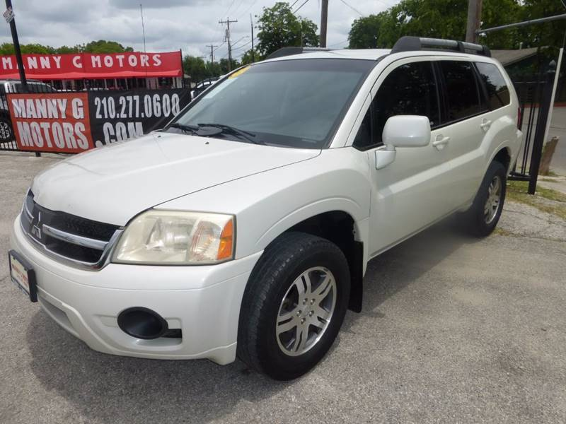 2007 Mitsubishi Endeavor for sale at Manny G Motors in San Antonio TX