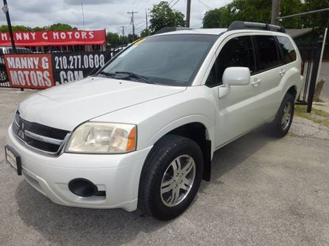 2007 Mitsubishi Endeavor for sale at Manny G Motors in San Antonio TX