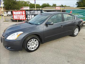 2010 Nissan Altima for sale at Manny G Motors in San Antonio TX