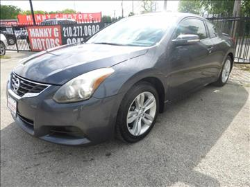 2012 Nissan Altima for sale at Manny G Motors in San Antonio TX