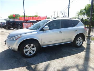 2007 Nissan Murano for sale at Manny G Motors in San Antonio TX