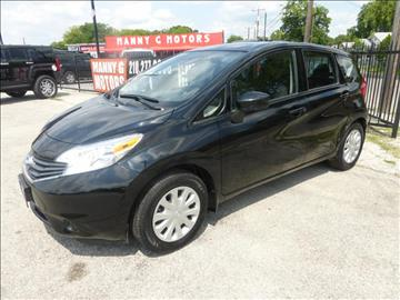 2015 Nissan Versa Note for sale at Manny G Motors in San Antonio TX