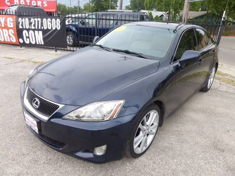 2006 Lexus IS 250 for sale at Manny G Motors in San Antonio TX
