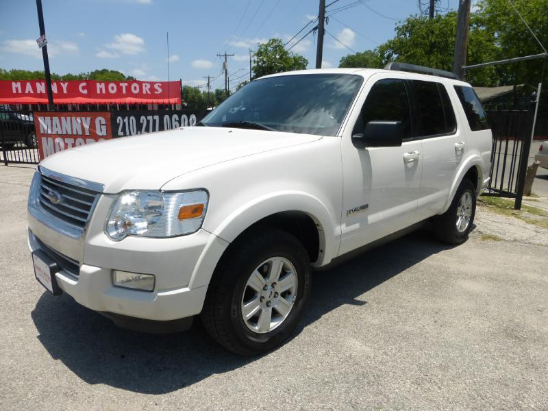 2008 Ford Explorer for sale at Manny G Motors in San Antonio TX