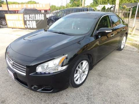 2011 Nissan Maxima for sale at Manny G Motors in San Antonio TX