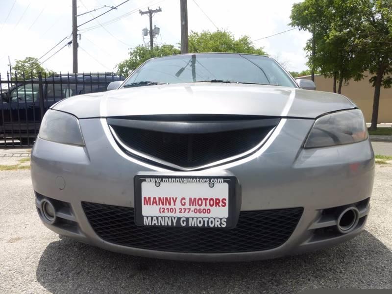 2006 Mazda MAZDA3 for sale at Manny G Motors in San Antonio TX