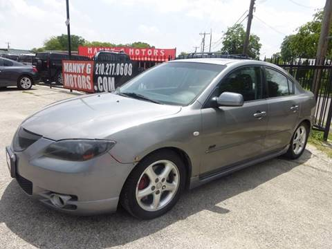 2006 Mazda MAZDA3 for sale at Manny G Motors in San Antonio TX
