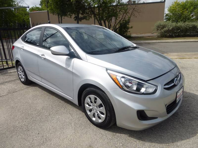 2016 Hyundai Accent for sale at Manny G Motors in San Antonio TX