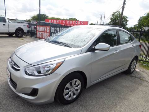 2016 Hyundai Accent for sale at Manny G Motors in San Antonio TX