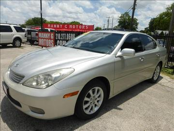 2004 Lexus ES 330 for sale at Manny G Motors in San Antonio TX