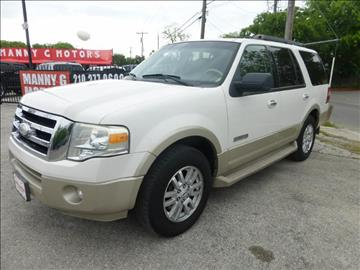 2008 Ford Expedition for sale at Manny G Motors in San Antonio TX