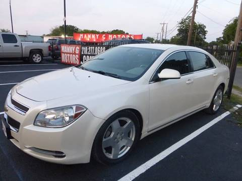 2010 Chevrolet Malibu for sale at Manny G Motors in San Antonio TX