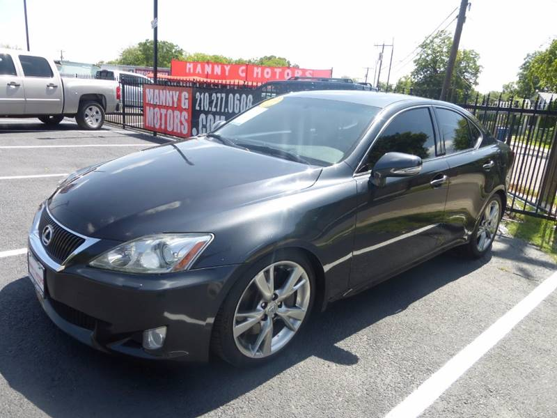 2009 Lexus IS 350 for sale at Manny G Motors in San Antonio TX