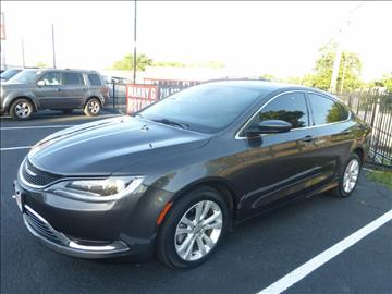 2015 Chrysler 200 for sale at Manny G Motors in San Antonio TX