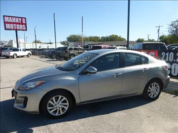 2012 Mazda MAZDA3 for sale at Manny G Motors in San Antonio TX