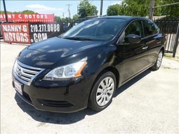2014 Nissan Sentra for sale at Manny G Motors in San Antonio TX