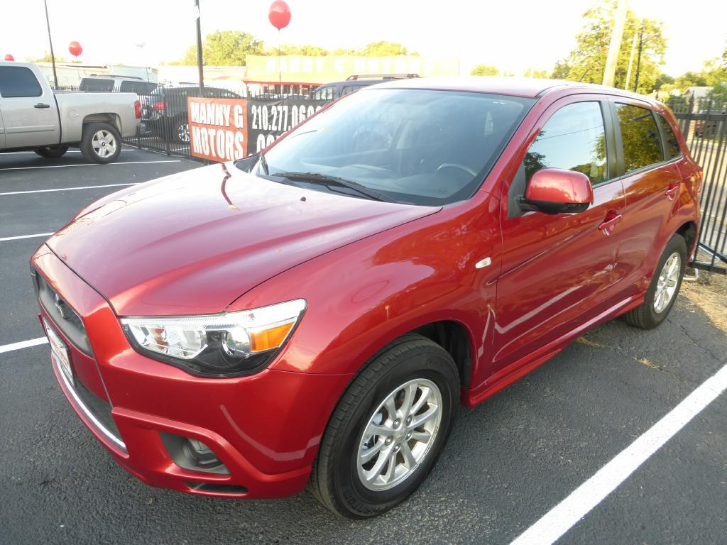 2011 Mitsubishi Outlander Sport for sale at Manny G Motors in San Antonio TX