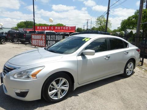 2014 Nissan Altima for sale at Manny G Motors in San Antonio TX