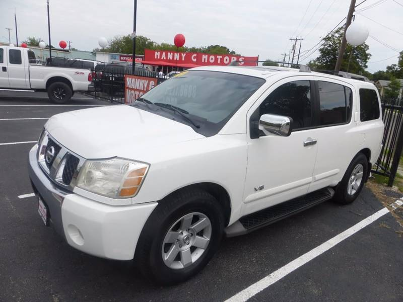 2006 Nissan Armada for sale at Manny G Motors in San Antonio TX