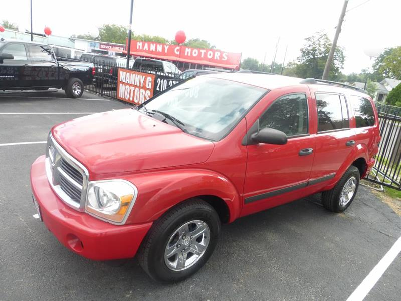 2006 Dodge Durango for sale at Manny G Motors in San Antonio TX