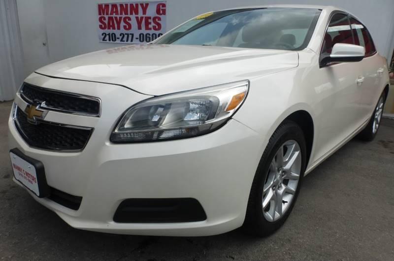 2013 Chevrolet Malibu Eco In San Antonio Tx Manny G Motors