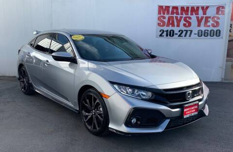 2018 Honda Civic for sale at Manny G Motors in San Antonio TX