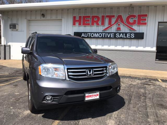 2014 Honda Pilot For Sale At Heritage Automotive Sales In Columbus IN