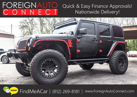 2012 Jeep Wrangler Unlimited for sale in Bloomington, IN