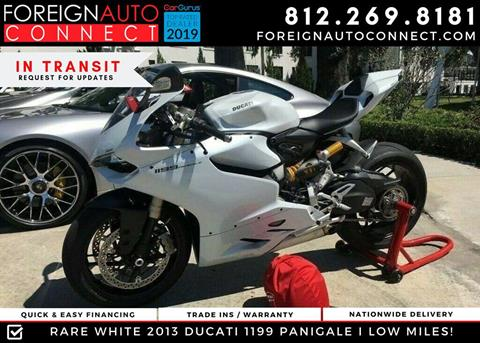 2013 Ducati 1199 PANIGALE for sale in Bloomington, IN