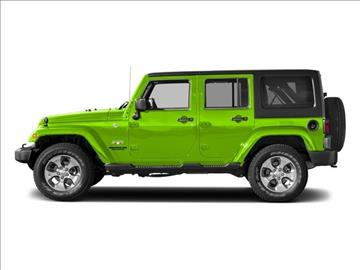 2017 Jeep Wrangler Unlimited for sale in Provo, UT
