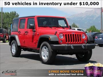 Jeep Wrangler For Sale Utah  Carsforsalecom