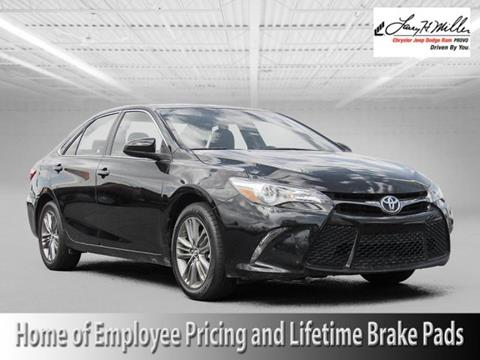 2016 Toyota Camry for sale in Provo UT