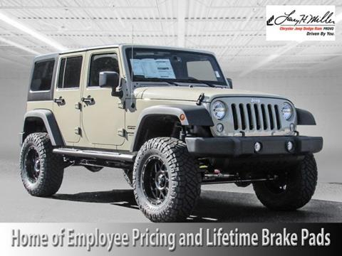 2017 Jeep Wrangler Unlimited for sale in Provo UT