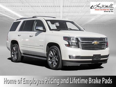 2015 Chevrolet Tahoe For Sale  Carsforsalecom