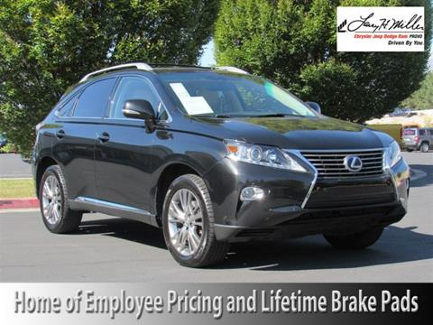 2013 Lexus RX 450h for sale in Provo UT