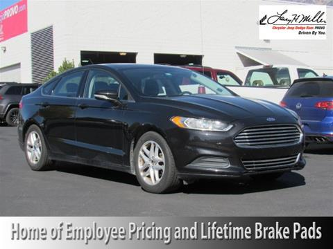 2014 Ford Fusion for sale in Provo UT