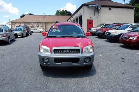 2003 Hyundai Santa Fe for sale in Allentown, PA