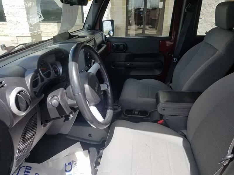 2008 Jeep Wrangler Unlimited for sale at OLSGARD AUTO SALES in Decorah IA