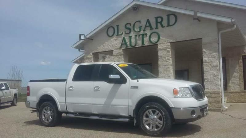 2007 Ford F-150 for sale at OLSGARD AUTO SALES in Decorah IA