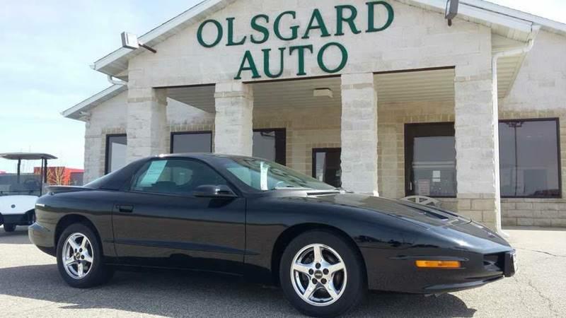 1996 Pontiac Firebird for sale at OLSGARD AUTO SALES in Decorah IA