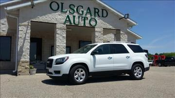2016 GMC Acadia for sale at OLSGARD AUTO SALES in Decorah IA